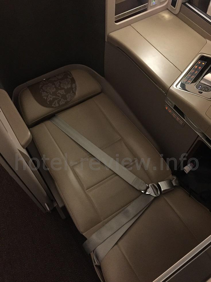 中国東方航空ビジネスクラスフラット