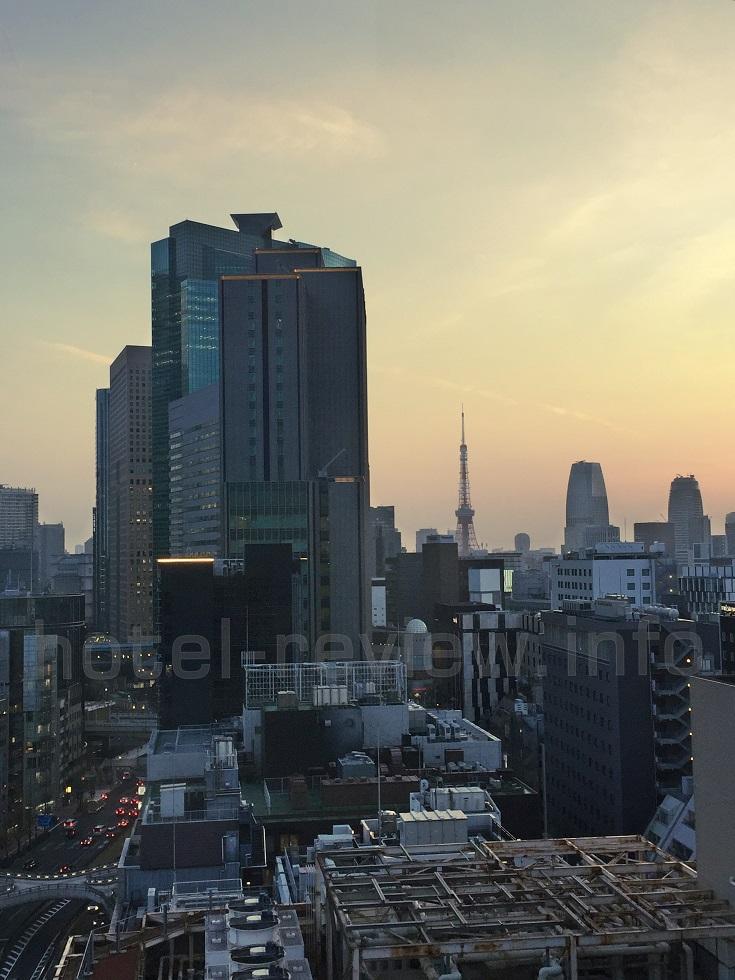 ACホテル東京銀座からの眺め