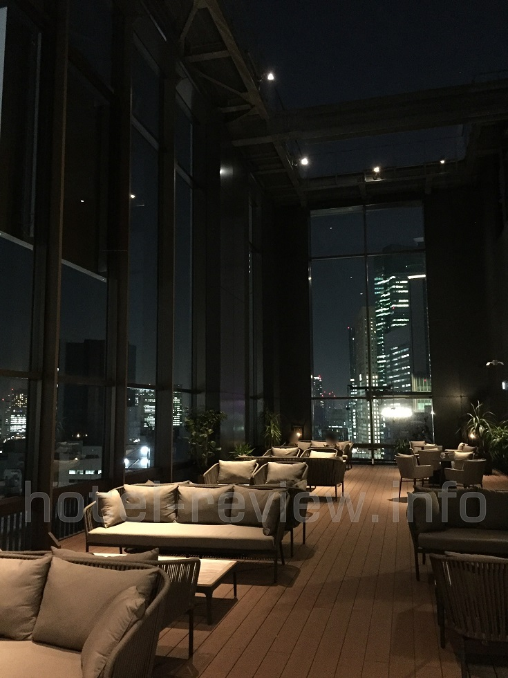 ACホテル東京銀座の屋上