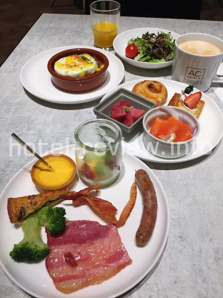 ACホテル東京銀座の朝食