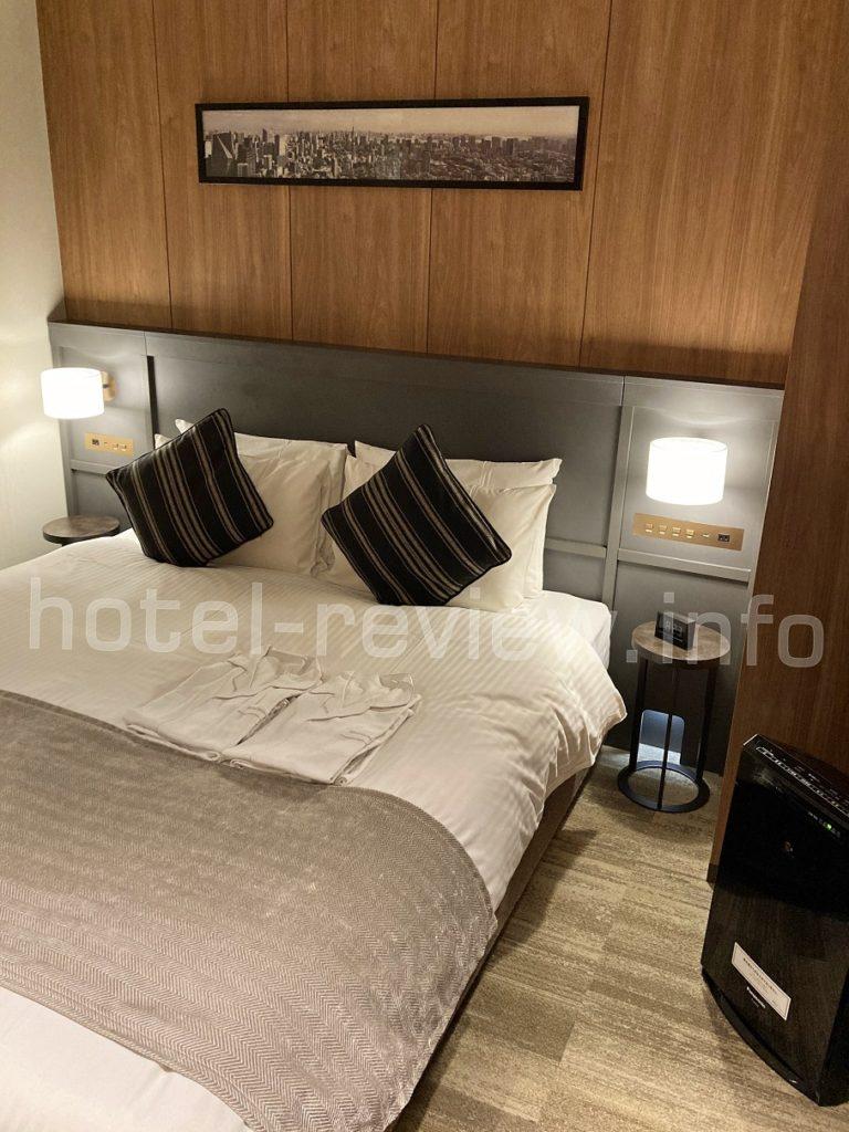 三井ガーデンホテル大手町のベッド