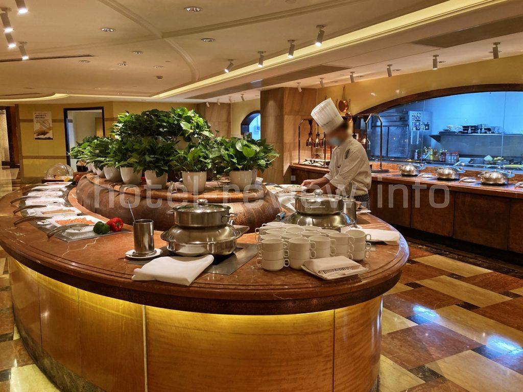 マリオット上海虹橋の朝食