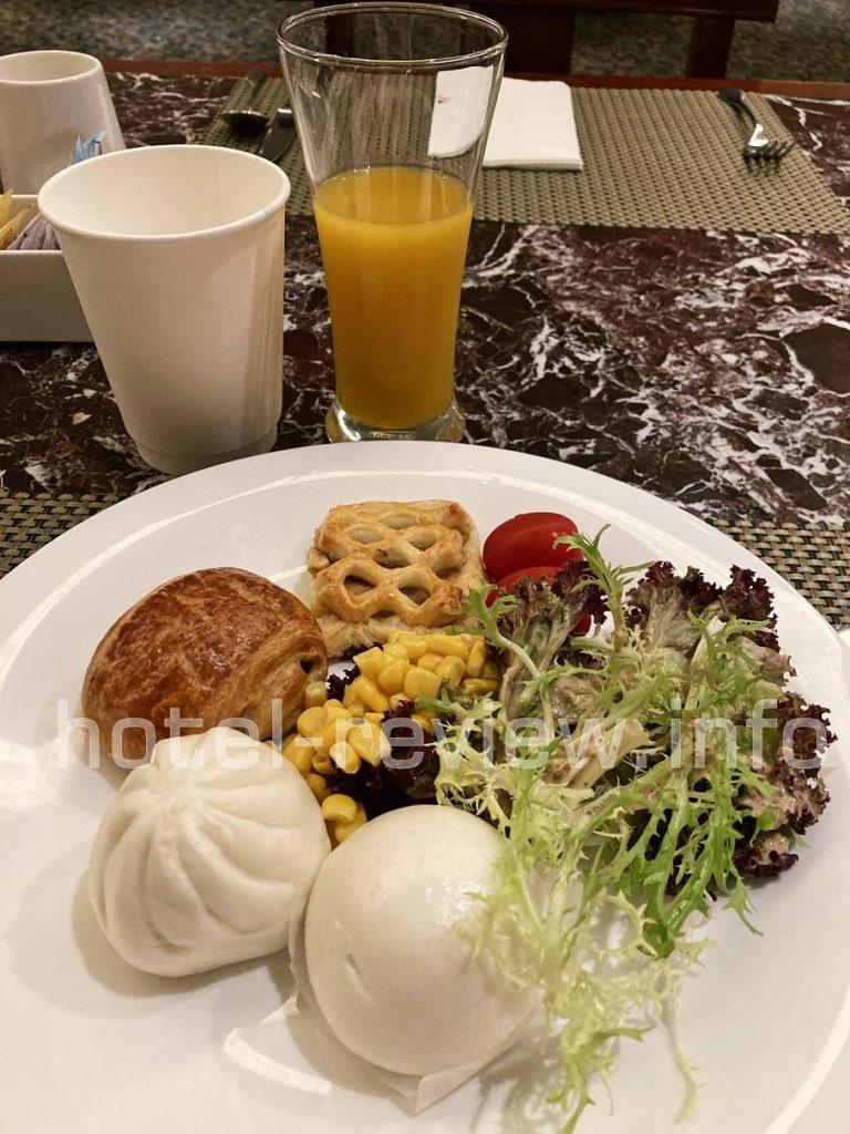 マリオット虹橋の朝食