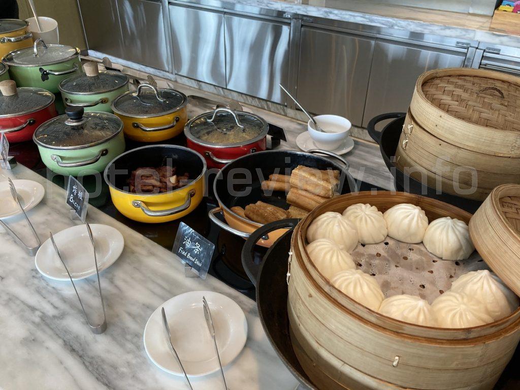 マリオット杭州ラウンジ朝食